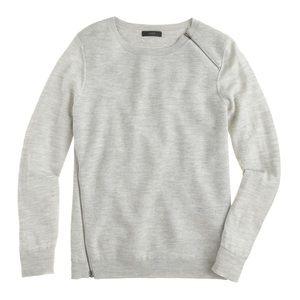 J. Crew Zipper Sweater